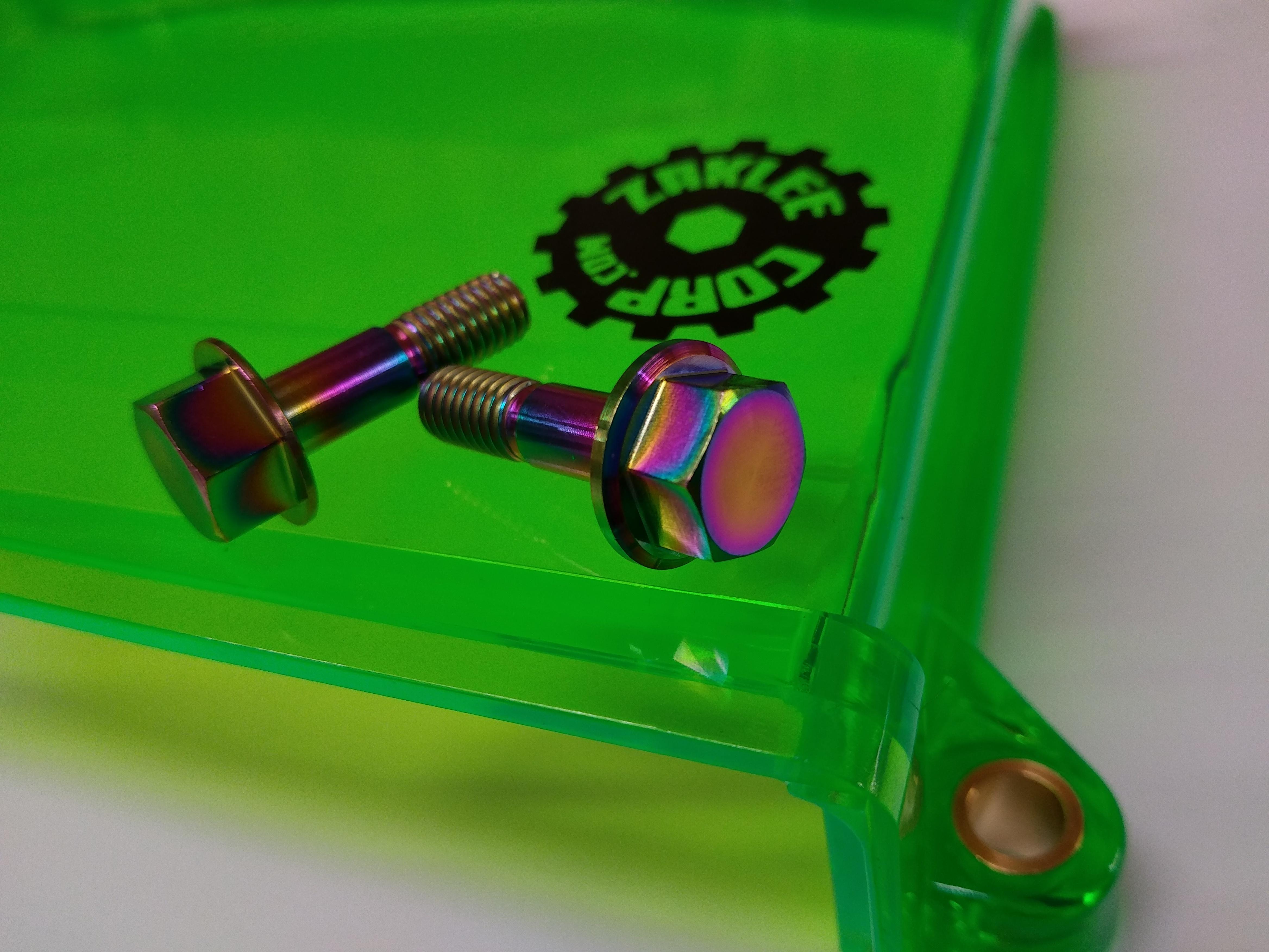 Titanium Bolt Kits for Cam Gear Covers